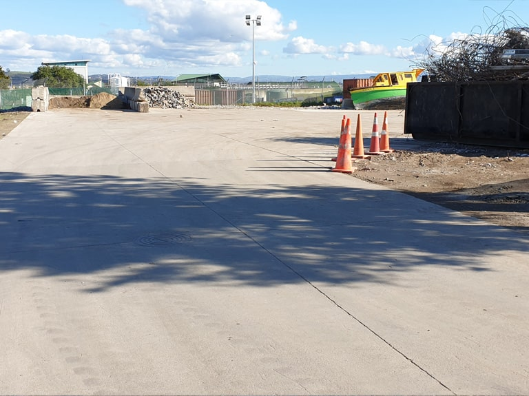 Te Maunga Transfer Station Construction Waste Area